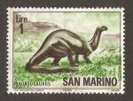Sellos del Mundo : Europa : San_Marino : dinosaurios
