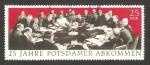 Stamps Germany -  1279 - 25 anivº de la firma del tratado de Potsdam
