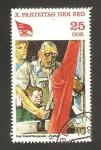 Sellos de Europa - Alemania -  10º congreso del partido socialista alemán