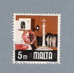 Stamps Europe - Malta -  Plazita de Malta