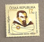 Stamps Europe - Czech Republic -  Johannes Kepler, Astrónomo