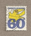 Sellos de Europa - Checoslovaquia -  Paloma