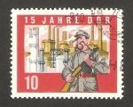 Sellos de Europa - Alemania -  15 anivº de la republica, guardian de la fabrica