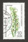 Sellos de Europa - Alemania -  orquídea, himantoglossum hircinum