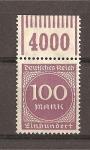 Sellos de Europa - Alemania -  Cifras./ Con bandeleta.