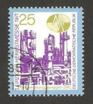 Stamps Germany -  feria de leipzig