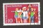 Sellos de Europa - Alemania -  Educación vial, una escolar en servicio de circulación