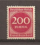 Stamps Germany -  Cifras.