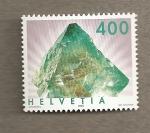 Sellos de Europa - Suiza -  Minerales