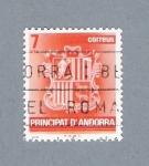 Stamps Andorra -  Escudo