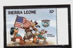 Stamps of the world : Sierra Leone :  50 cumpleaños de Donald