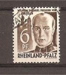 Stamps Germany -  Estado de Rheinland-Pfalz