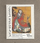 Stamps Europe - Czech Republic -  Pintura china