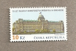 Stamps Czech Republic -  Ministerio de Industria y Comercio