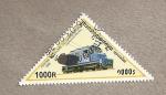 Stamps Cambodia -  Locomotora internacional