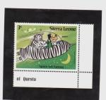Stamps Africa - Sierra Leone -  el arca espacial