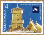 Stamps Europe - Romania -  Centenario postal de San Marino