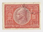 Stamps : America : Argentina :  Jura de la Constitución