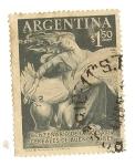 Stamps : America : Argentina :  Centenario de la bolsa de cereales de Buenos Aires