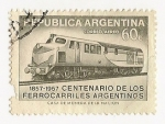 Stamps : America : Argentina :  Centenario de los ferrocarriles Argentinos