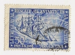 Stamps : America : Argentina :  La Uruguaya al rescate del