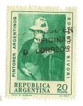 Stamps : America : Argentina :  Eduardo Sívori