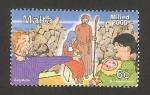 Sellos de Europa - Malta -  Navidad