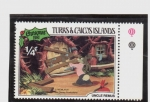 Stamps Europe - Turks and Caicos Islands -  tio remus