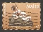 Stamps Malta -  Navidad, el niño Jesús