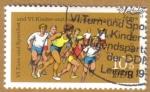 Stamps Germany -   Leipzig Deportes
