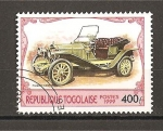 Stamps Africa - Togo -  Automoviles.