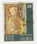 Stamps Sri Lanka -  Rock and Temple Paintings