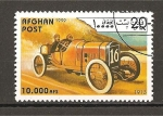 Sellos de Asia - Afganistán -  Automoviles.