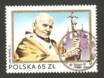 Sellos de Europa - Polonia -  2ª visita de juan pablo II a Polonia