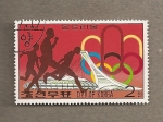 Stamps North Korea -  Juegos Olímpicos de Montreal