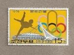 Sellos de Asia - Corea del norte -  Juegos Olímpicos de Montreal
