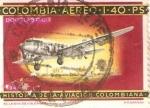 Stamps Colombia -  HISTORIA DE LA AVIACION  COLOMBIANA