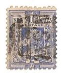 Stamps Australia -  Personaje