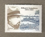 Stamps France -  Albert Londres