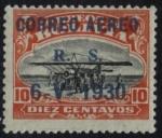 Stamps Bolivia -  Conmemoracion del Vuelo del Graf Zeppelin a sud America