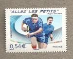 Sellos de Europa - Francia -  Rugby