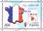 sellos de Europa - España -  Edifil  3638  Paises del Euro.