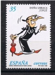 Stamps Europe - Spain -  Edifil  3645  Comics. Personajes de tebeo