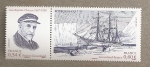 Stamps France -  Explorador Groenlandia Charcot