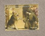 Stamps Portugal -  500 Aniv. de los Franciscanos