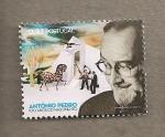 Stamps Portugal -  100 Aniv. nacimiento de Antonio Pedro