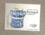 Sellos de Europa - Portugal -  Vaso de cerámica siglo XVII
