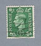 Sellos de Europa - Reino Unido -  Jorge VI (repetido)