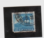 Stamps India -  Locomotora eléctrica