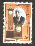 Stamps Europe - Malta -  tesoros de malta, michelangelo sapiano